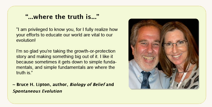 Bruce Lipton raves about Marcy Axness