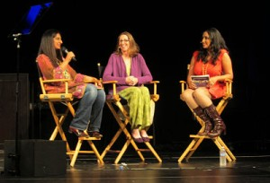 Mallika Chopra, Marcy Axness & Sarah Ripard at California Women's Conference 2012