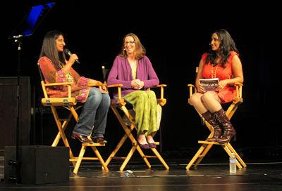 Mallika Chopra, Marcy Axness & Sarah Ripard at California Women's Conference 2012