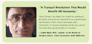 Gabor Mate raves about Marcy Axness