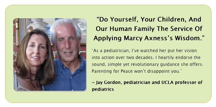 Jay Gordon raves about Marcy Axness