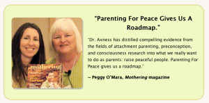Peggy O'Mara raves about Marcy Axness
