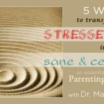 5 Weeks to Transform from Stressed Out to Sane & Centered | Marcy Axness PhD
