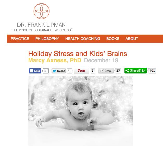 Dr. Marcy on Lipman's Blog