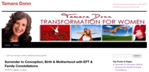 Tamara Donn blog